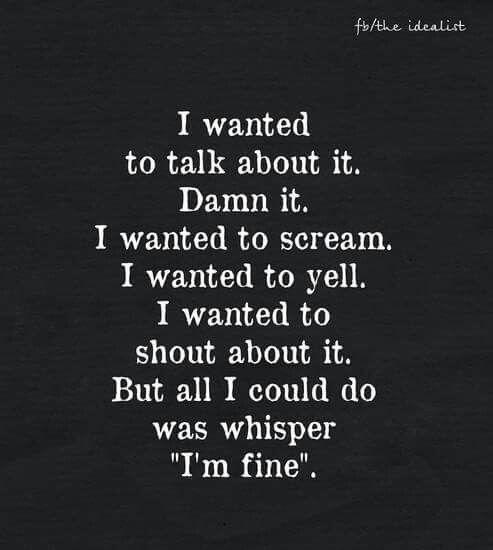Im fine'